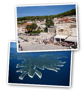 Apartments in Hvar